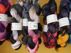 Fil à tricoter - Teint à la main